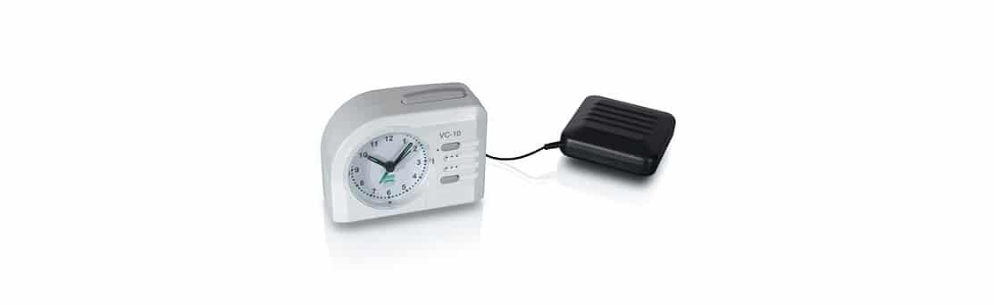 שעון מעורר אנלוגי (מחוגים) לכבדי שמיעה VC-10
