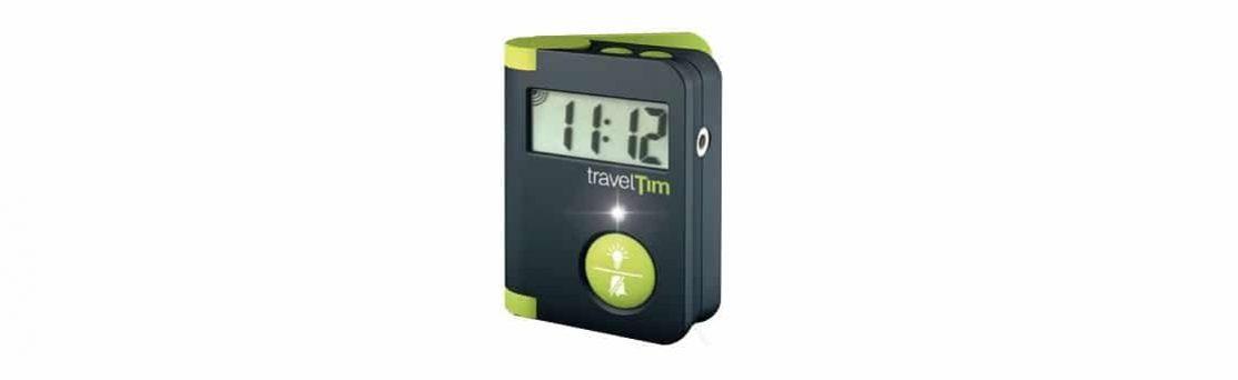 שעון מעורר דיגיטלי נייד לכבדי שמיעה travelTim